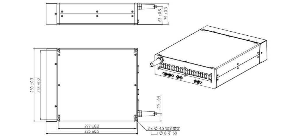 JPT LASER YDFLP-60&80-M7-L1-R